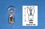 12v 21w/5w Stop Tail Bulbs [Clear] Priced Per Pair